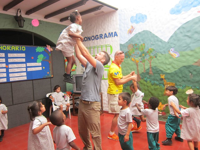 Volunteering at the Orphanage in Medellin