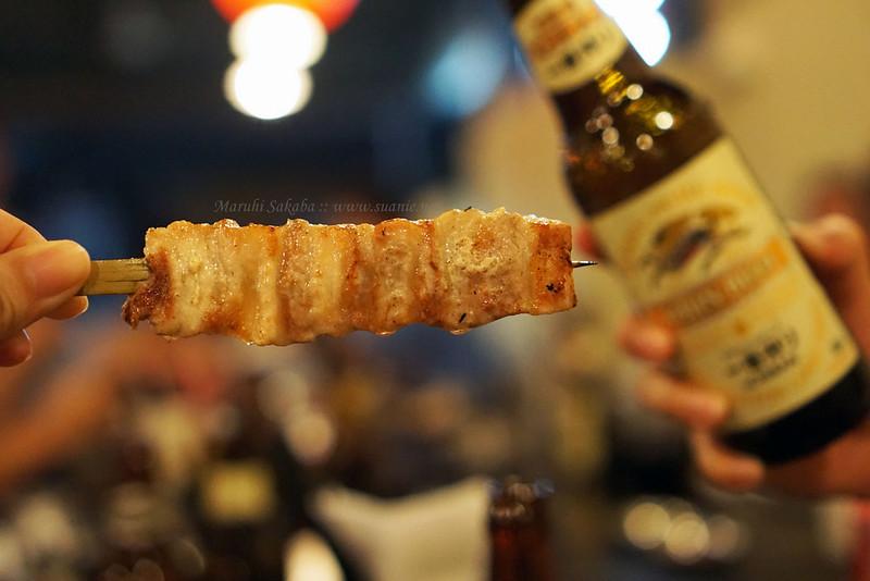 Maruhi Sakaba, Taman Desa - pork belly and beer