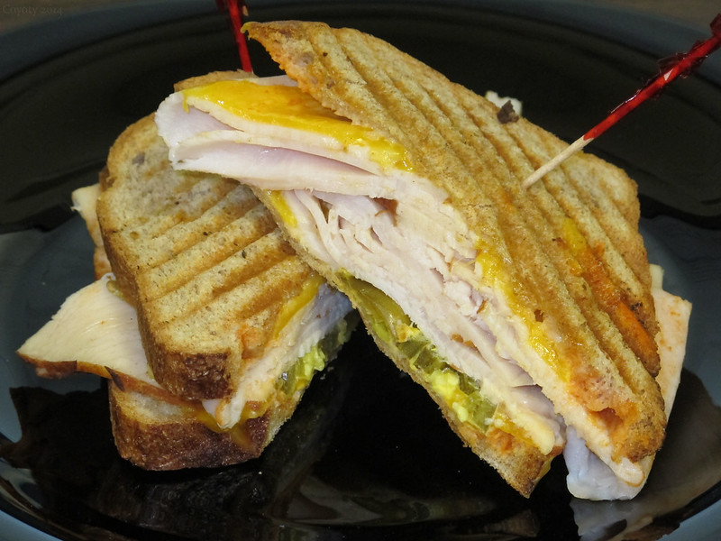 Smokin' turkey melt