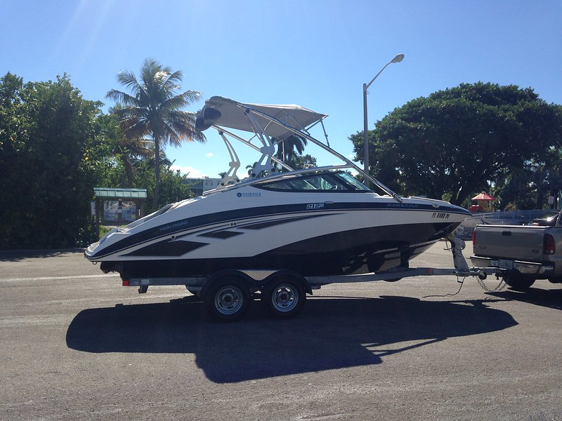 2013 yamaha 212x jet boat with only 35hrs the hull truth for Boat fishing near me
