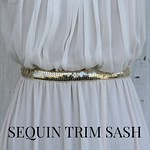 sequin trim sash tutorial bhldn