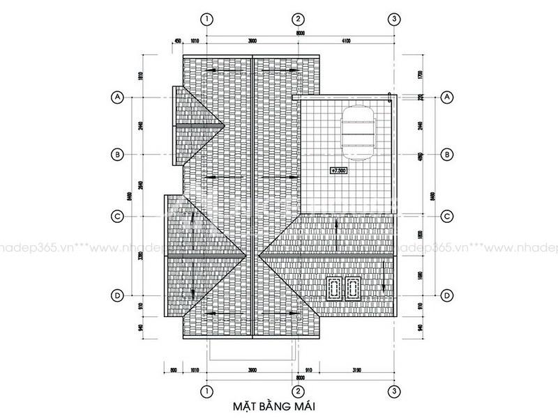Tư vấn thiết kế biệt thự 2 tầng pháp cổ_1