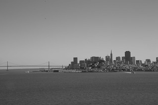 View to San Francisco from Alcatraz,