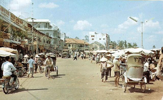 g2904 Khu phố Chợ Cần Thơ 1969