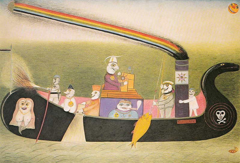FRIEDRICH SCHRÖDER-SONNENSTERN - The State Magic Ship To The Moon Spirit Driving, 1956