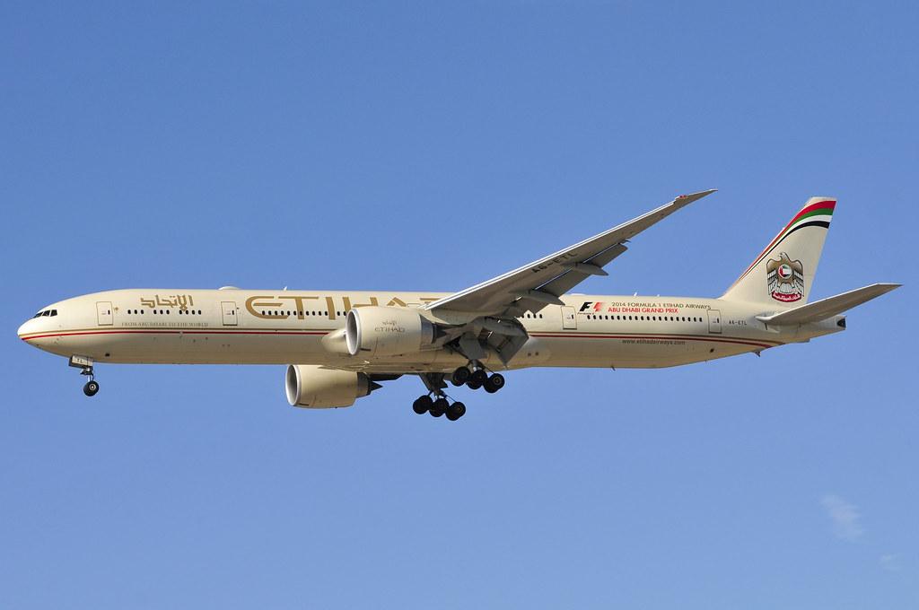 A6-ETL - B77W - Etihad Airways