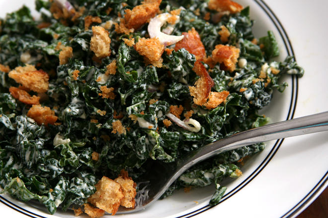 kale caesar salad 8