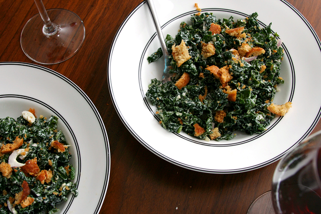 kale caesar salad 6