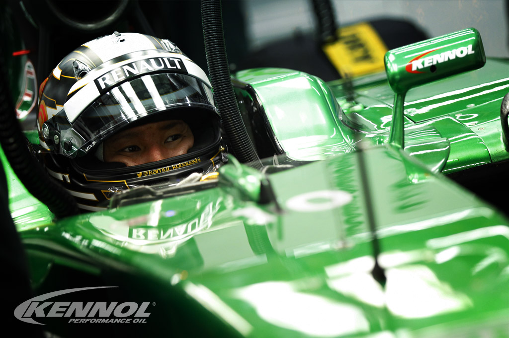 KENNOL and Caterham keep improving their performances in F1