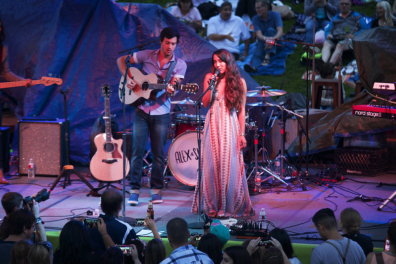 Alex & Sierra at Denver Botanic Gardens (Concert Photos)