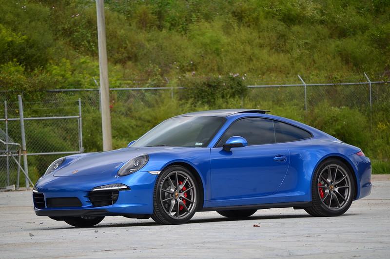 New 2015 911 C4s Coupe Sapphire Blue At Capital Porsche