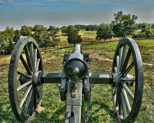 Canon on Perryville Battlefield