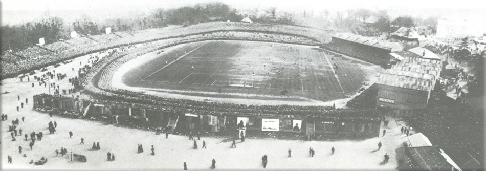 Picture of The Crystal Palace stadium 1905