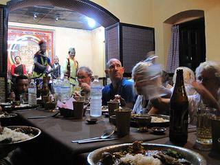 Kathmandu dinner