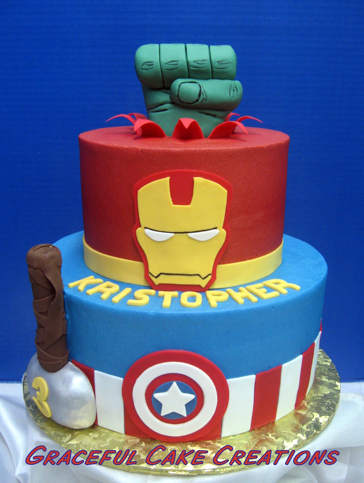 Images Marvel Cakes