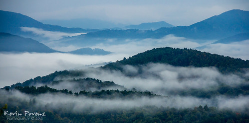 morning trees mountains fog landscape high view foggy sigma northcarolina september blueridgeparkway 2014 bloe canon60d kevinpovenz