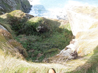 14 10 04 Day 12 3 Tregardock Cliff (2)