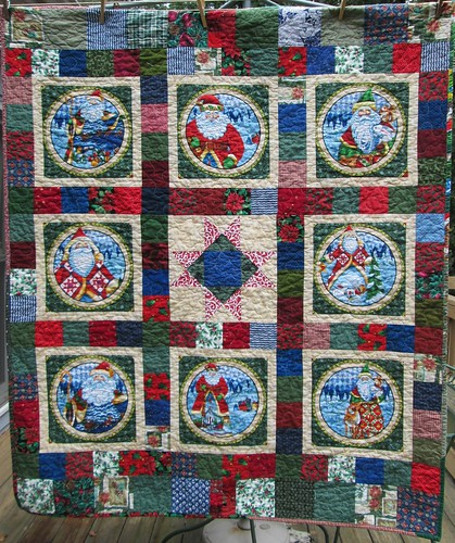 Jim Shore Christmas Quilt