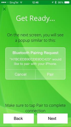 Striiv iOS App - Setup #2