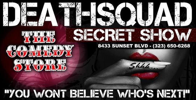 SECRET SHOW 10/8