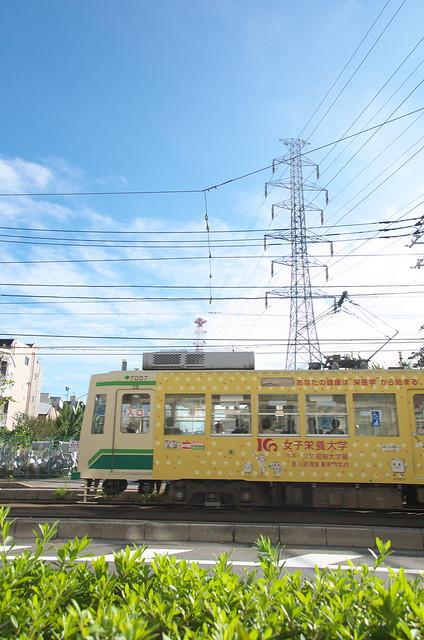Tokyo Train Story 都電荒川線 2014年10月6日