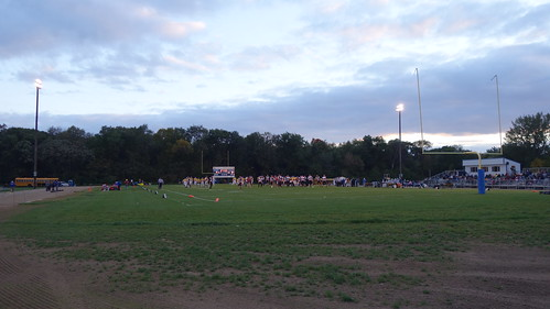game sports football team view before iowa footballfield players friday donbosco undefeated hlv gilbertville sonyrx100ii hlvwarriors 8playerfootball