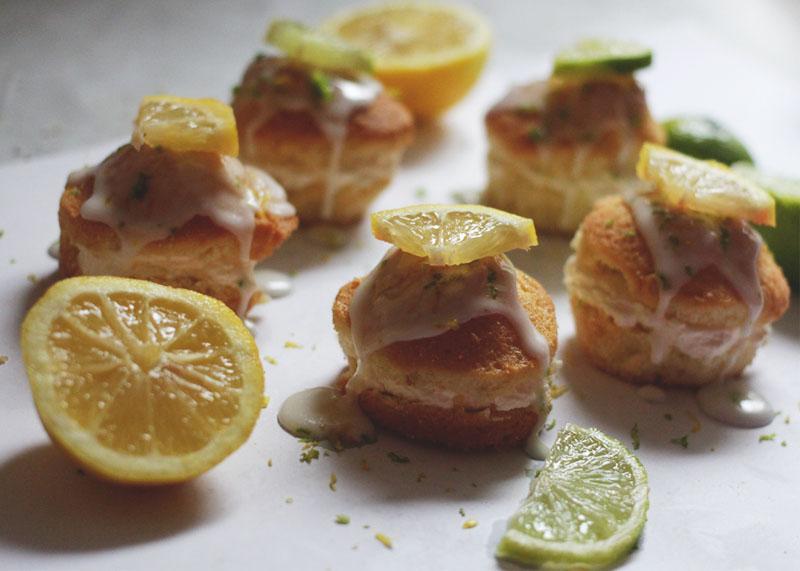lemon and lime cupcakes
