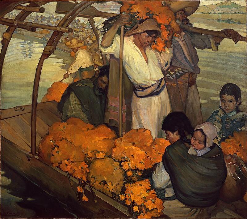 Saturnino Herrán - The offering (1913)