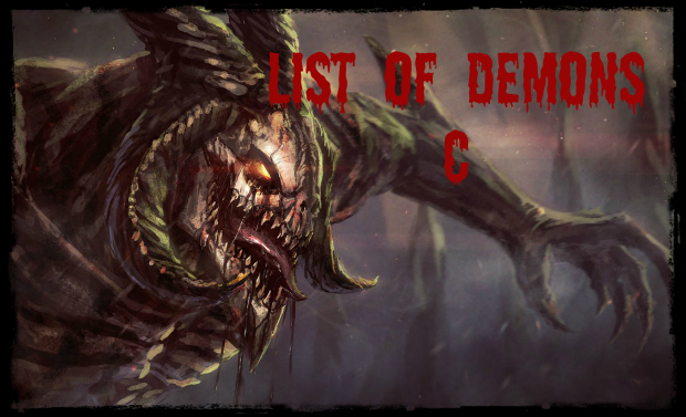 List of Demons C