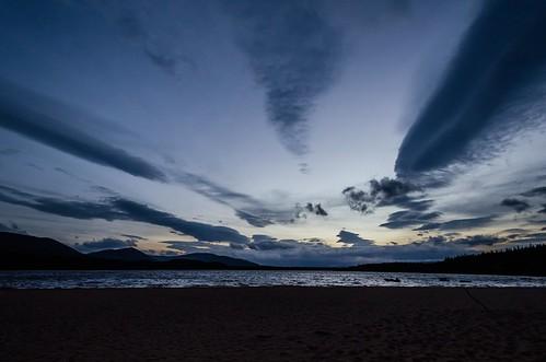 autumn sunset sun clouds photoshop skyscape landscape scotland highlands nikon october loch dslr aviemore lightroom lochmorlich d7000 nikond7000 adobelightroom4