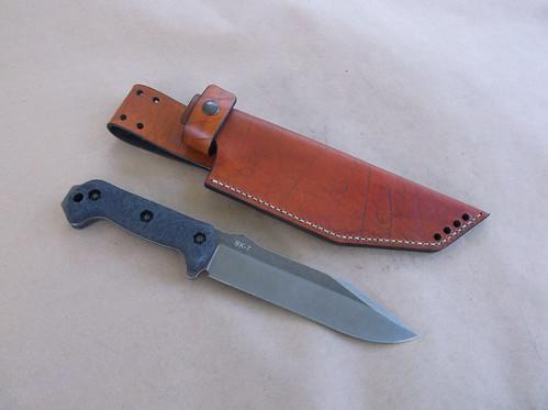Ka Bar Becker BK-7 Custom Leather Sheath