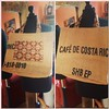 Upcycled bag. Sans Costa Rican coffee. Handed over in @stdavidcoffee . Apt I thought!