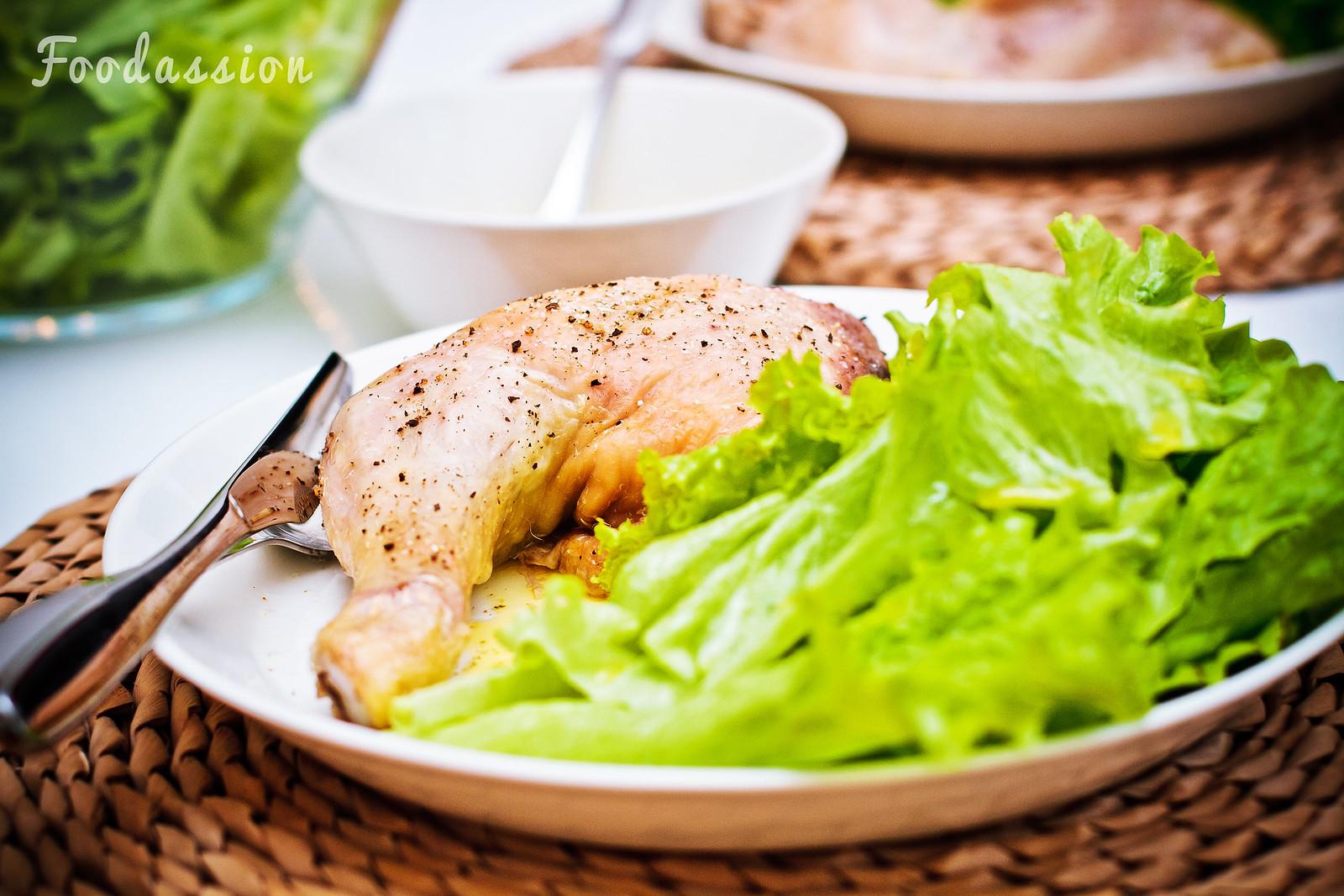 Kanankoipi ja salaattia