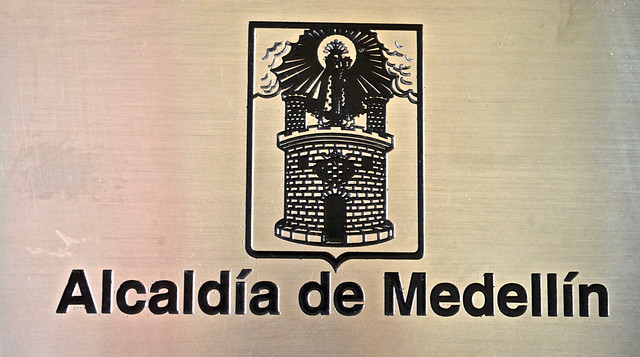 shield of medellin, colombia