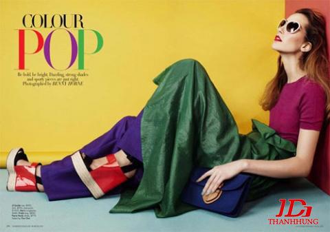 Cách phối màu quần áo cho Nam Nữ đẹp! Kết hợp màu sắc 4