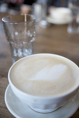 Latte, Tartine Bakery, San Francisco
