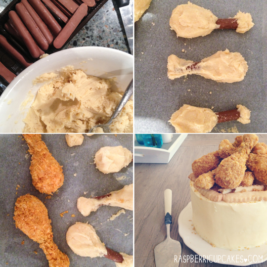 'Fried Chicken' Cookie Pop Cake