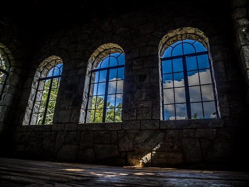 Rock Eagle Tower Upper Windows