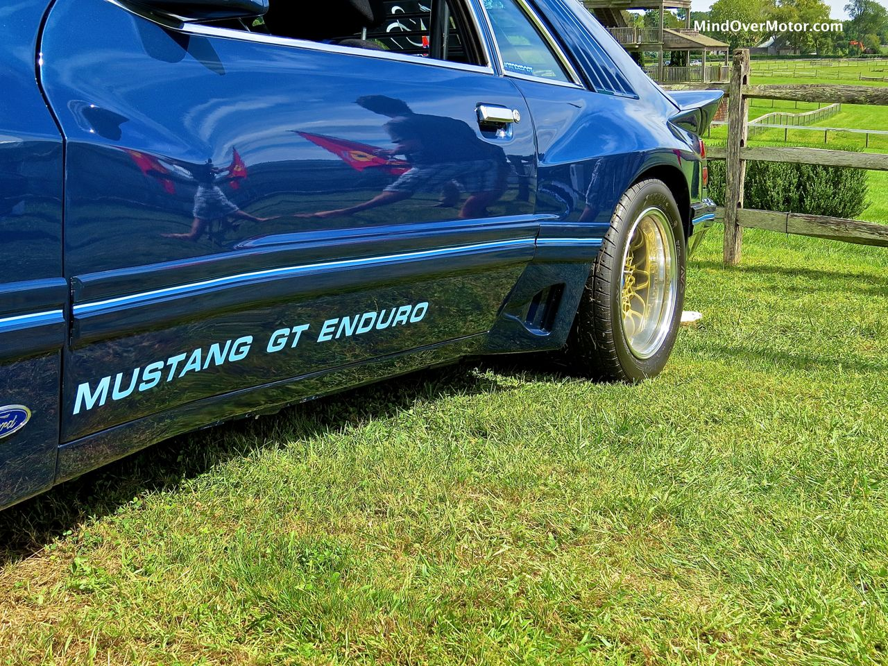 IMSA Mustang Side Strake