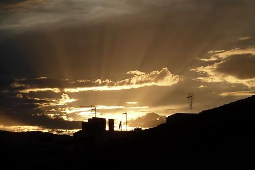 sunset nophotoshop santacoloma howiseethesky