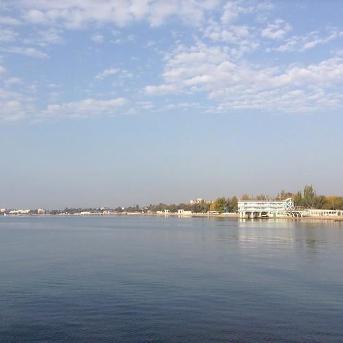 Теплое октябрьское утро))) #евпатория  #крым