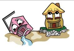 Casa sobre arena