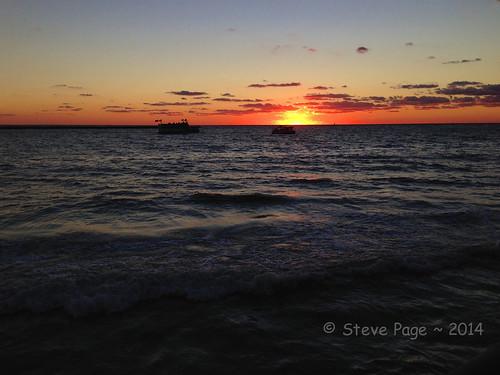 sunset gulfofmexico celebration stevepage iphone itail stephenpage