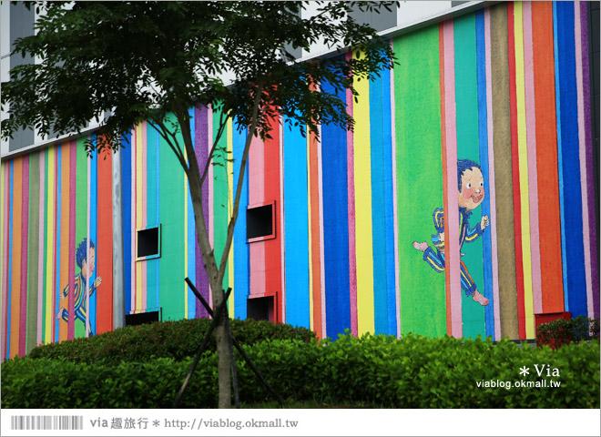 【南科幾米】台南|台積電南科幾米裝置藝術小公園~願望盛開‧許諾之地34