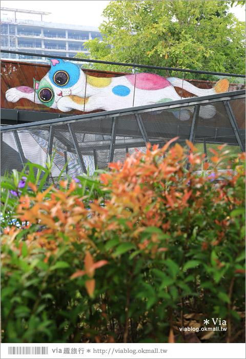 【南科幾米】台南|台積電南科幾米裝置藝術小公園~願望盛開‧許諾之地19