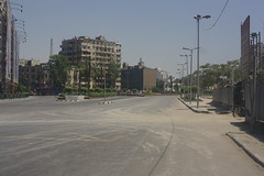 Tahrir square abandoned