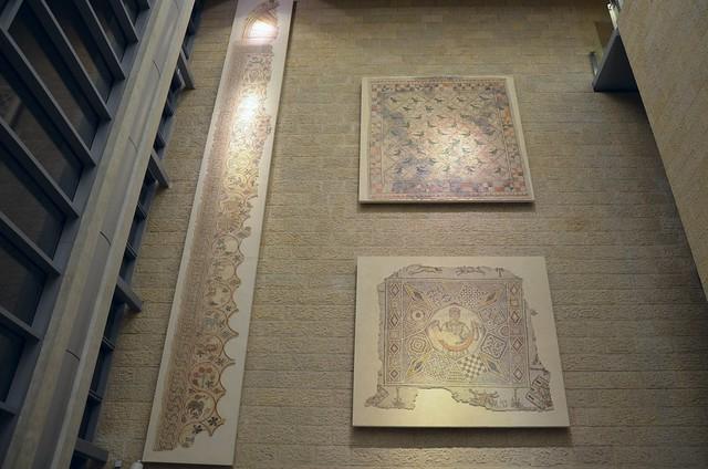 Ben-Gurion airport Byzantine mosaics
