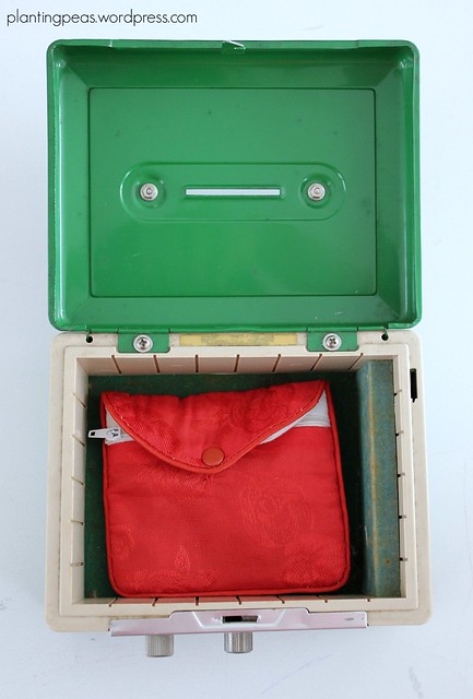 Montessori-inspired cash box activity