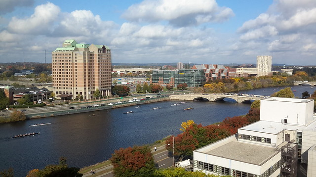 Head of the Charles - the largest regatta in the U.S.