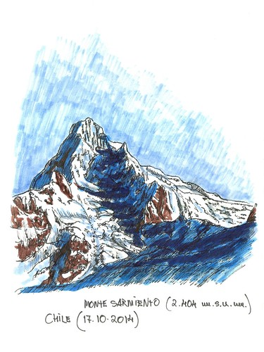 Monte Sarmiento (2.404 m.s.n.m.) en Chile